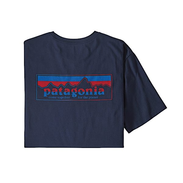 Patagonia - M's Together for the planet Logo Organic T-Shirt - 38269