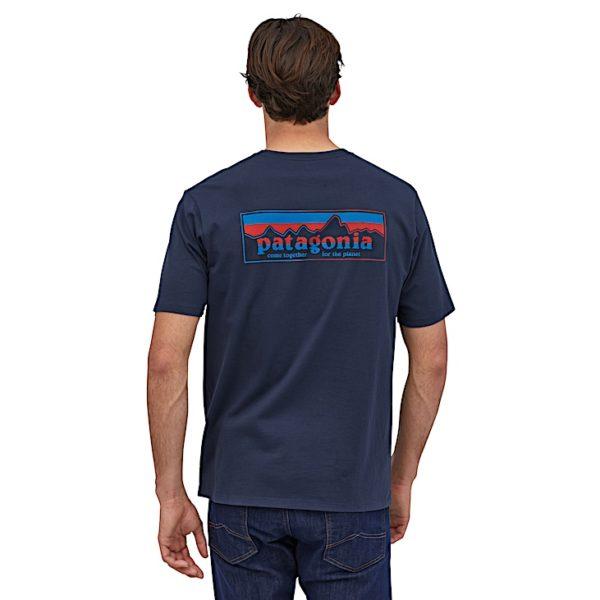 T-shirt logo Patagonia - Patagonia - M's Together for the planet Logo Organic T-Shirt - 38269