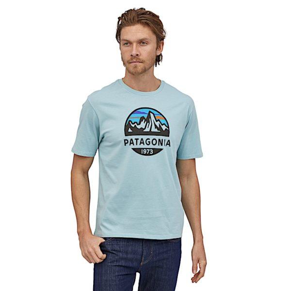 T-shirt logo Patagonia - Patagonia - M's Fitz Roy Scope Organic T-Shirt - 38526