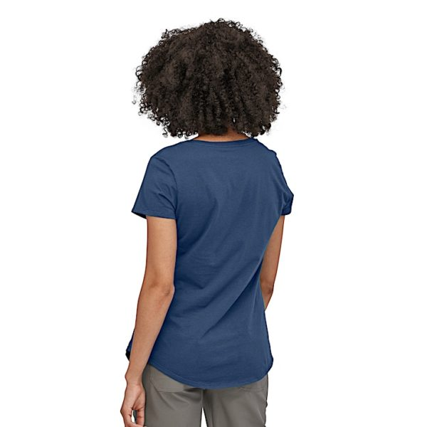 Patagonia - W's Live Simply Hive Organic Scoop T-Shirt - 38544