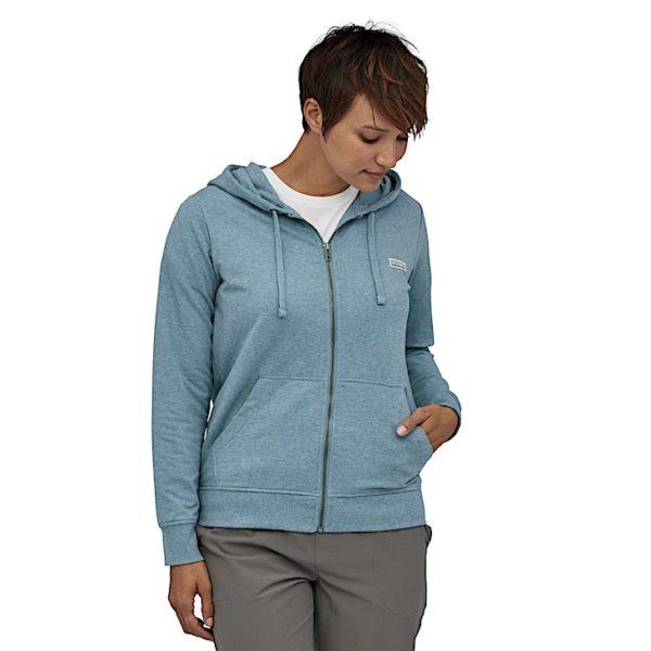 Sweatshirt à capuche Patagonia- Patagonia - W's Pastel P-6 Label Ahnya Full-Zip Hoody - 39561