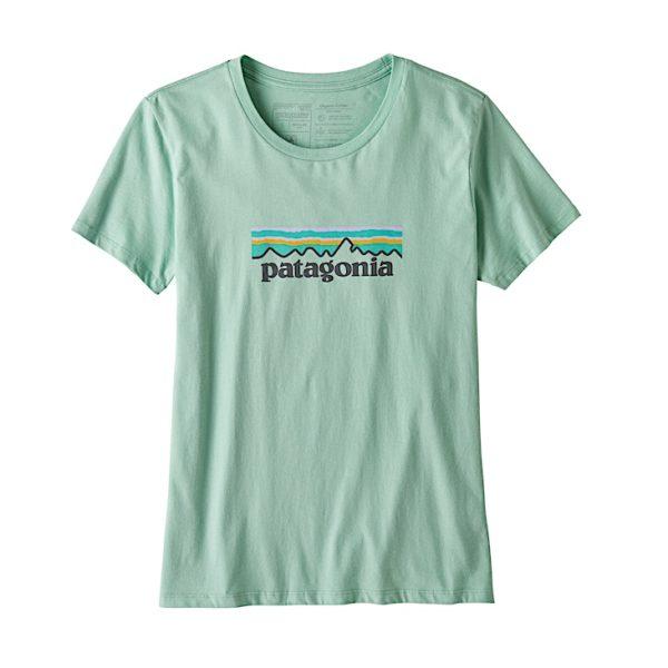 Patagonia - W's Pastel P-6 Logo Organic Crew T-Shirt - 39576