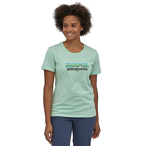 T-shirt femme Patagonia - Patagonia - W's Pastel P-6 Logo Organic Crew T-Shirt - 39576